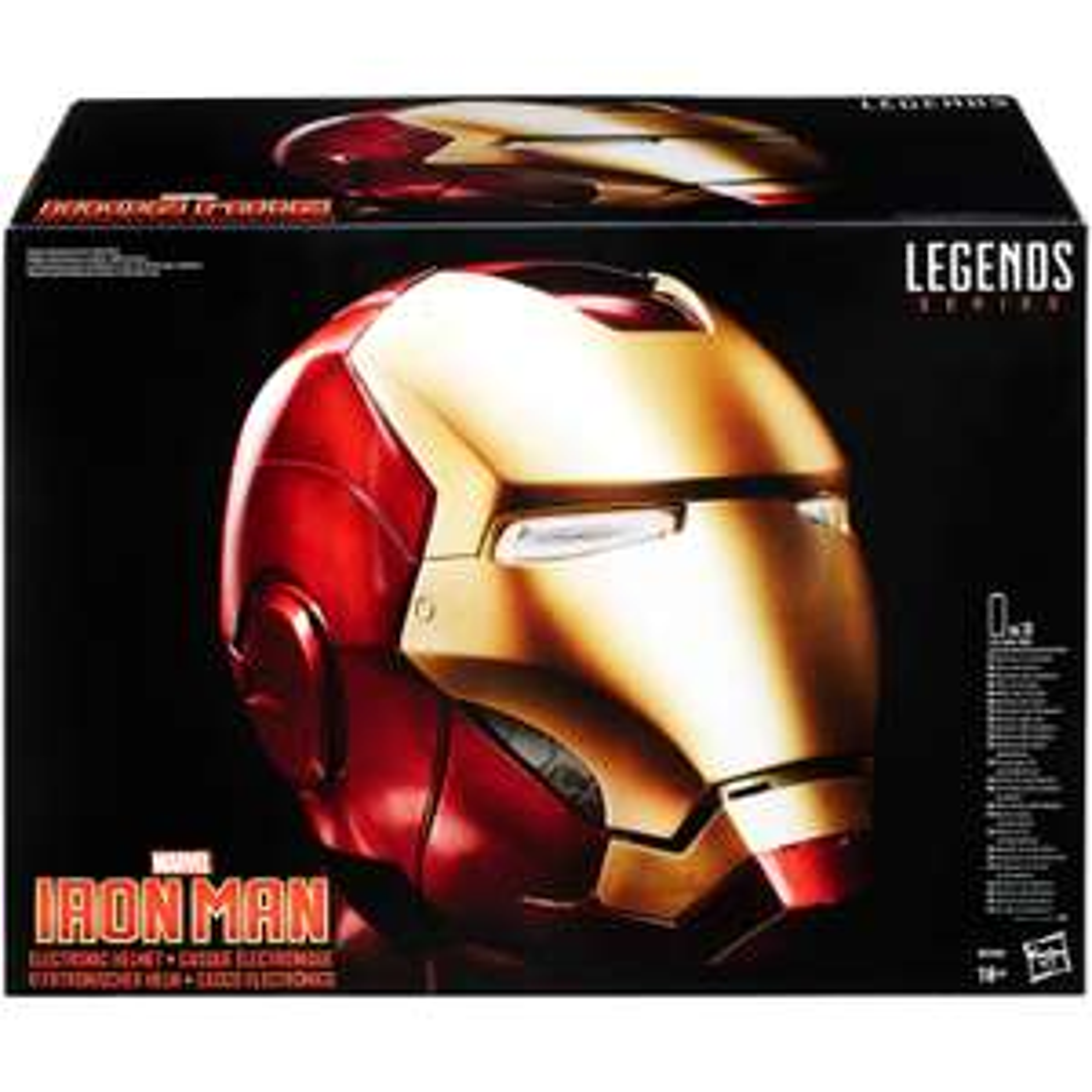 [Précommande] Casque Électronique The Avengers Marvel Legends - Iron Man (Taille Réelle)