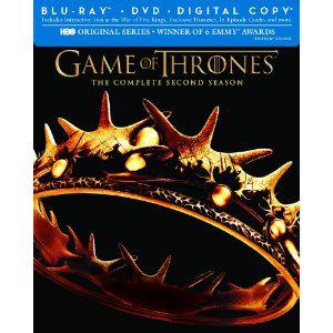 Game of Thrones (Le Trône de Fer) - Saison 2 (Blu-ray/DVD Combo + Copie Digitale)