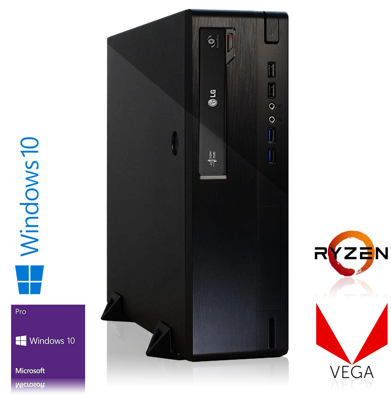 Tour PC Compact - Ryzen 3 2200G, A320M Pro-M2 V2, SSD 120 Go, 8 Go de RAM