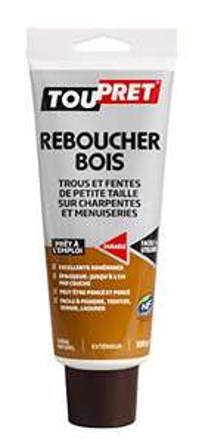 [Panier Plus] Tube de pâte à reboucher bois Toupret 451010 - 330 g