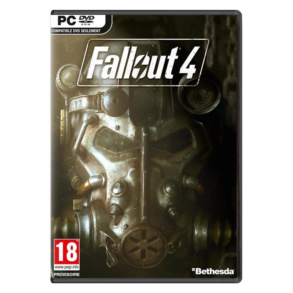 Fallout 4 sur PS4 et Xbox One à 44.90€ et sur PC