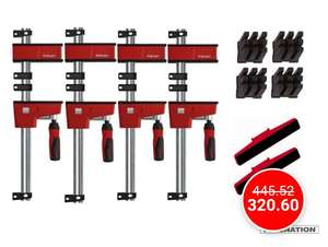 Package Bessey serre-joint Krev 100 + Accessoires (toolnation.nl)