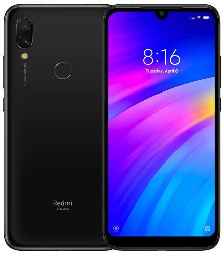 "Smartphone 6.26"" Xiaomi Redmi 7 (Global Version) - HD+, SnapDragon 632, RAM 2Go, ROM 16Go, 4G (B20), Noir"