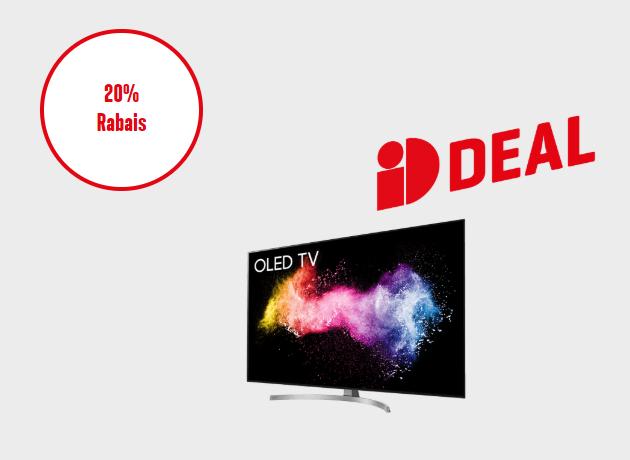 20% de réduction sur toutes les TV OLED (Frontaliers Suisse)