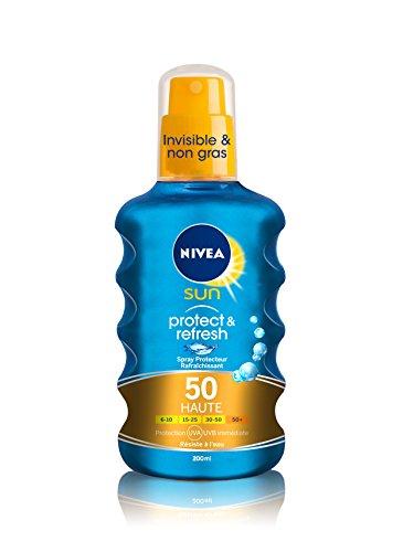 Spray Protecteur Protect et Refresh FPS50 Nivea Sun - 200 ml