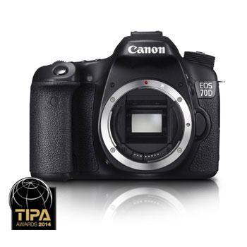 Appareil photo numérique Reflex Canon EOS 70D - Boitier nu (via ODR de 100€)