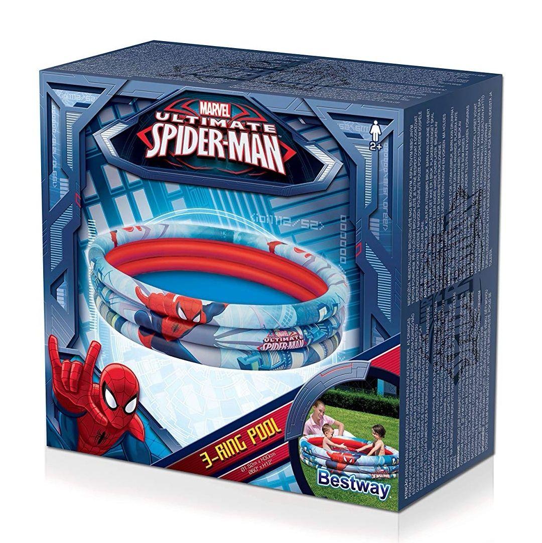 [Panier Plus] Piscine gonflable Spiderman - 152 x 30 cm
