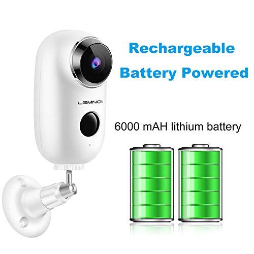 Caméra de Surveillance avec batterie rechargeable Lemnoi (vendeur tiers)