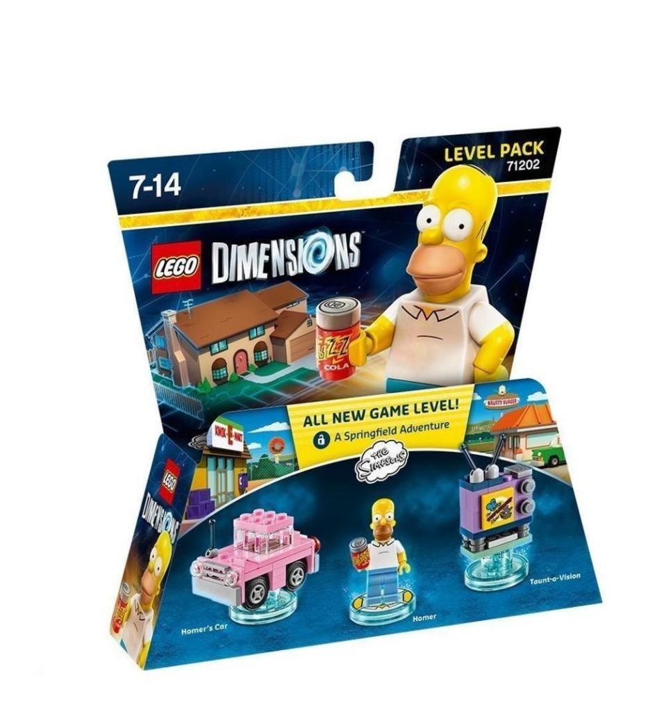 Figurine Lego Dimensions - Level Pack 71202 : Homer Simpson