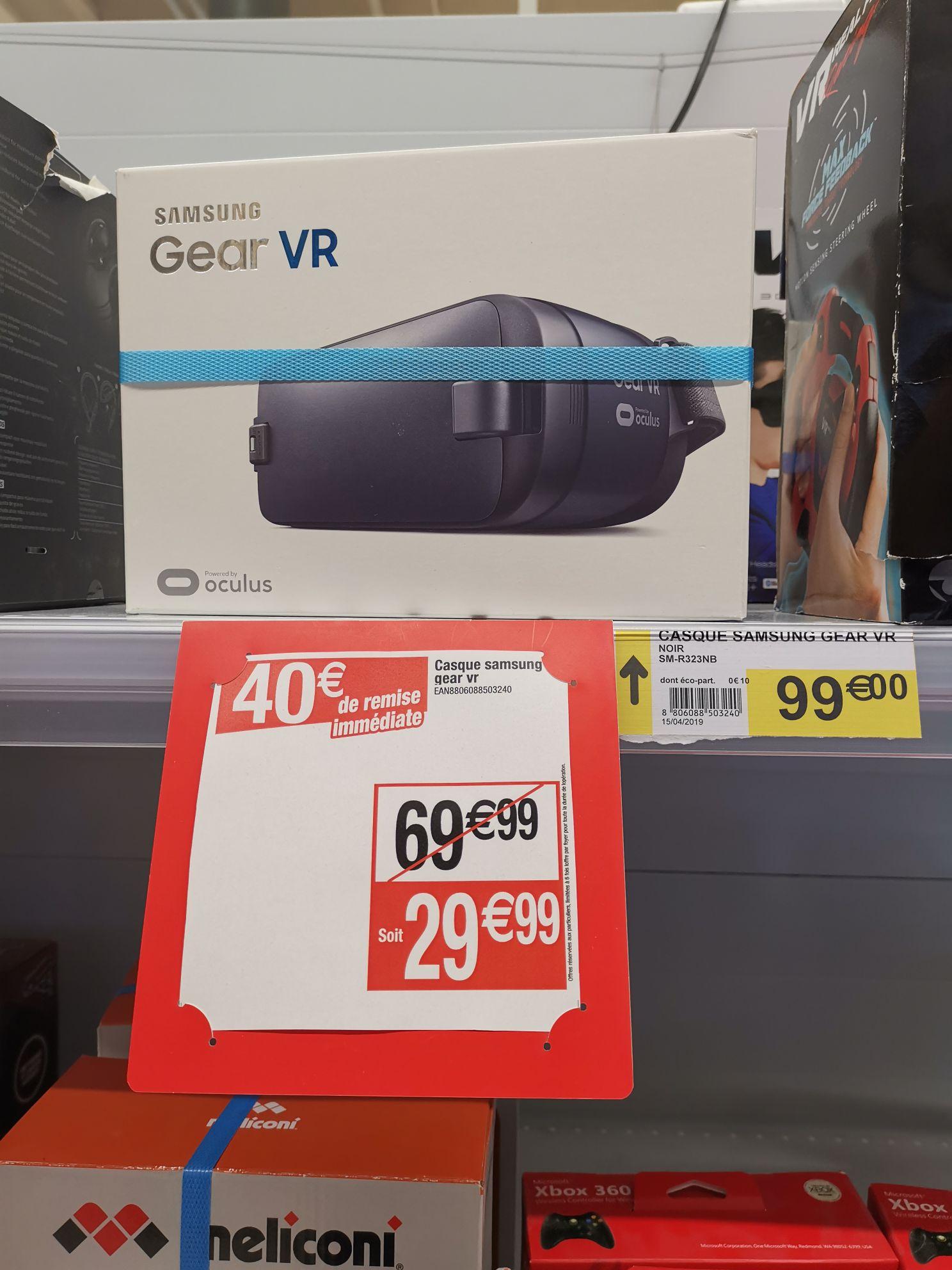 Casques de réalité virtuelle pour smartphone Samsung Gear VR (SM-R323) - Ermont (95)