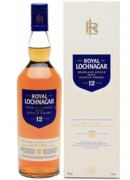 Bouteille de Whisky Lochnagar Highland Single Malt 12 ans - 70cl , 40 % vol (Via click and collect)
