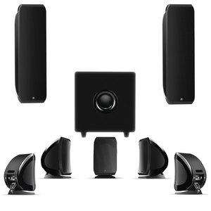 Pack enceintes Focal 7.1 Sib XL & Sib & Cub 3 Jet Black