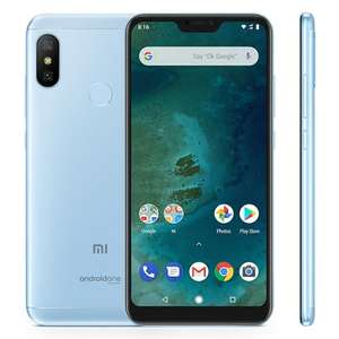 "Smartphone 5.84"" Xiaomi Mi A2 Lite (Version Globale) - 4 Go RAM, 32 Go ROM, 4G (B20), Bleu (vendeur tiers)"