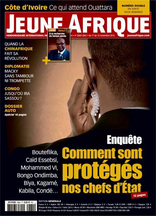 Magazine Jeune Afrique n°2860 offert (au lieu de 2,99€)