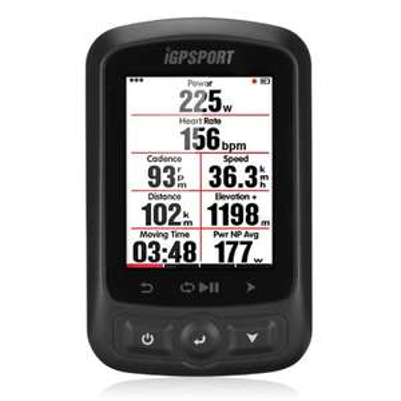 Ordinateur GPS Vélo/VTT iGPSport iGS618