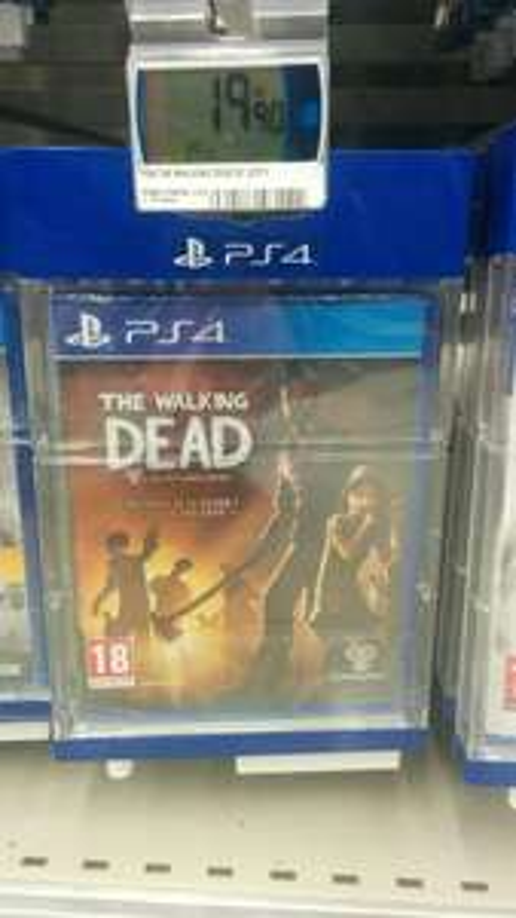 The Walking Dead - Intégrale de la saison 1 + DLC 400 days sur PS4