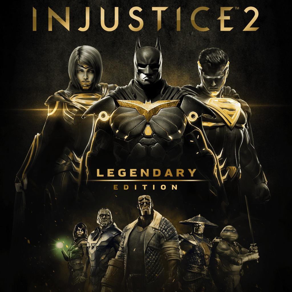 Injustice 2 Legendary Edition : Le Jeu + Tous les DLC sur PC (Dématérialisé - Steam)