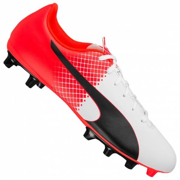 e48cc1bdf6 Chaussures de football Puma EvoSpeed 5.5 FG - blanc / rouge (du 40 au 46