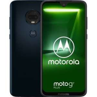 "Smartphone 6.2"" Motorola Moto G7 Plus Deep Indigo -  64Go (Vendeur Tiers)"