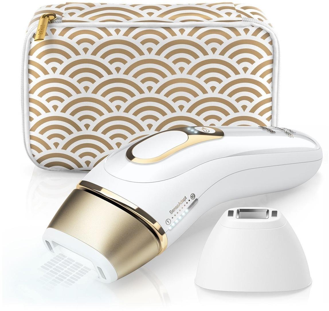 Épilateur à lumière pulsée Braun Silk-Expert Pro 5 PL5137 - IPL, avec pochette / rasoir Venus Extra Smooth / tête de précision