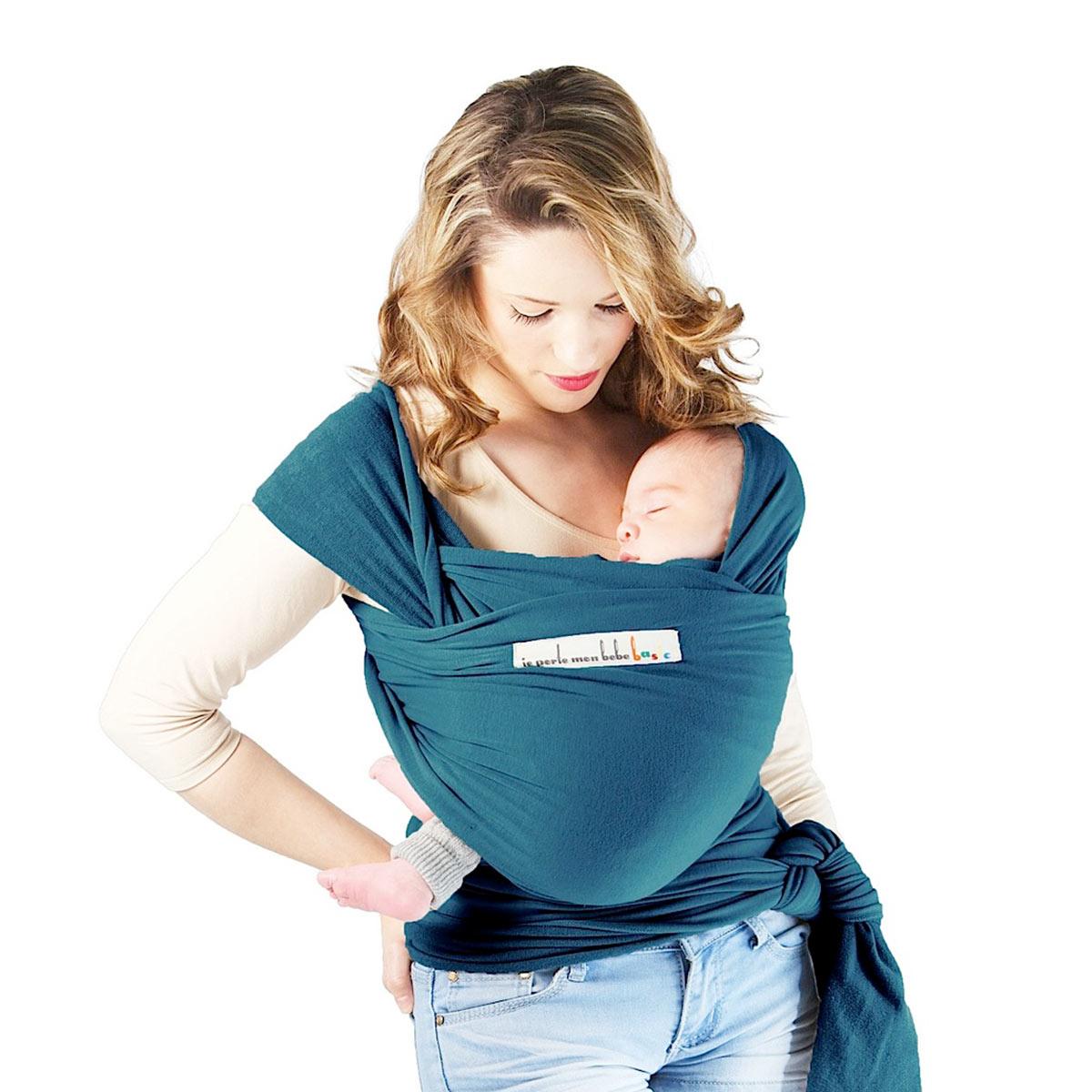 20% de réduction sur une sélection de produits Puériculture et Eveil - Ex : Écharpe de portage Je porte mon bébé Basics - Bleu