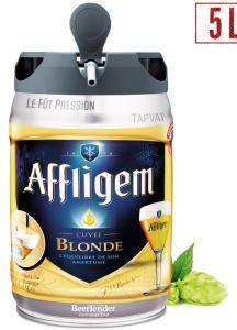 Fût de bière Affligem pression - 5L (via 6,29€ sur la carte de fidélité)
