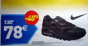 Chaussures Nike Air Max Command noires