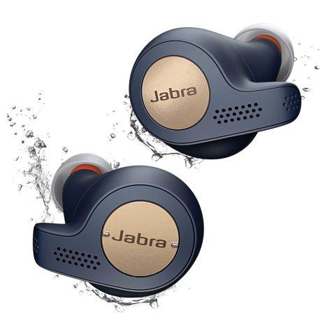 [Adhérents MACIF] Écouteurs sport Jabra Elite Active 65T - Cuivre Bleu