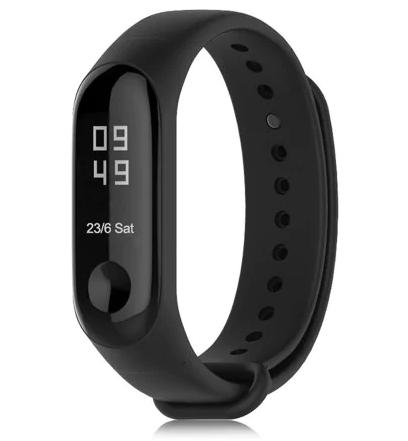 """Bracelet connecté Xiaomi Mi Band 3 - Écran 0.78"""", noir"""