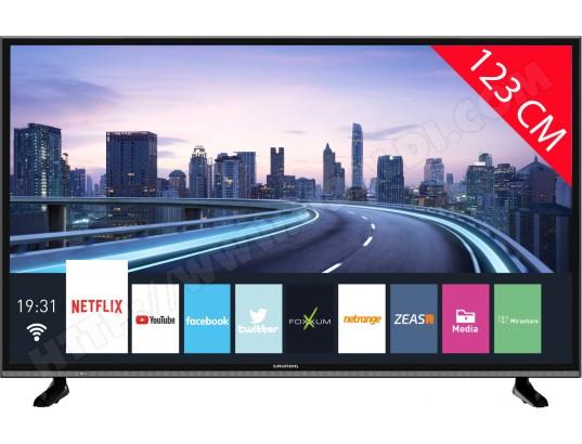 "TV LED 49"" Grundig 49VLX7850BP - 4K UHD, HDR, Smart TV (Via ODR de 150€)"