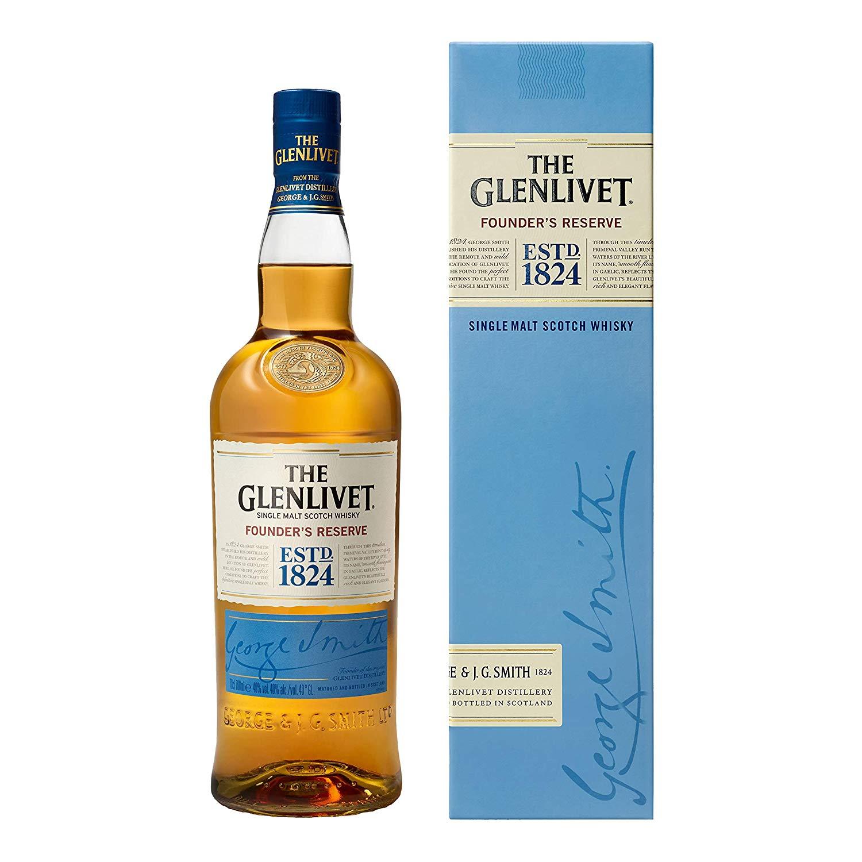 Bouteille de Whisky Ecossais The Glenlivet Founder's Reserve - 70 cl