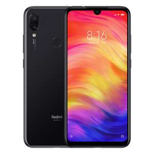 "Smartphone 6.3"" Xiaomi Redmi Note 7 (Version Global) - Full HD+, 128 Go ROM, 4 Go RAM, 4G (B20), Noir"