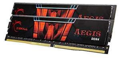 Kit mémoire Ram DDR4 Gskill 16 Go (2x8 Go) - 2400MHz, C15