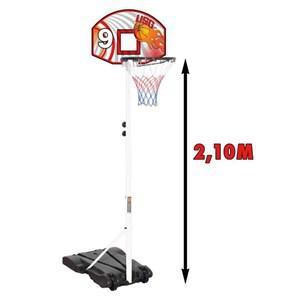 Panier de Basket USG sur pied de 2.10 m