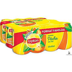 2 pack de 12 x 33cl de Lipton Ice Tea