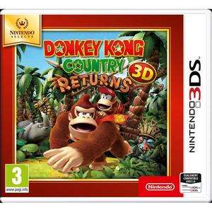 Jeu Donkey Kong Country Returns sur 3DS - Version Nintendo Selects