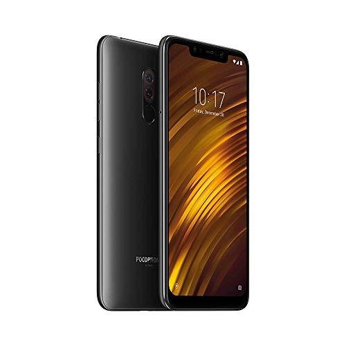 """Smartphone 6.18"""" Xiaomi Pocophone F1 - full HD+, SnapDragon 845, 6 Go de RAM, 64 Go, noir (vendeur tiers, expédié par Amazon)"""