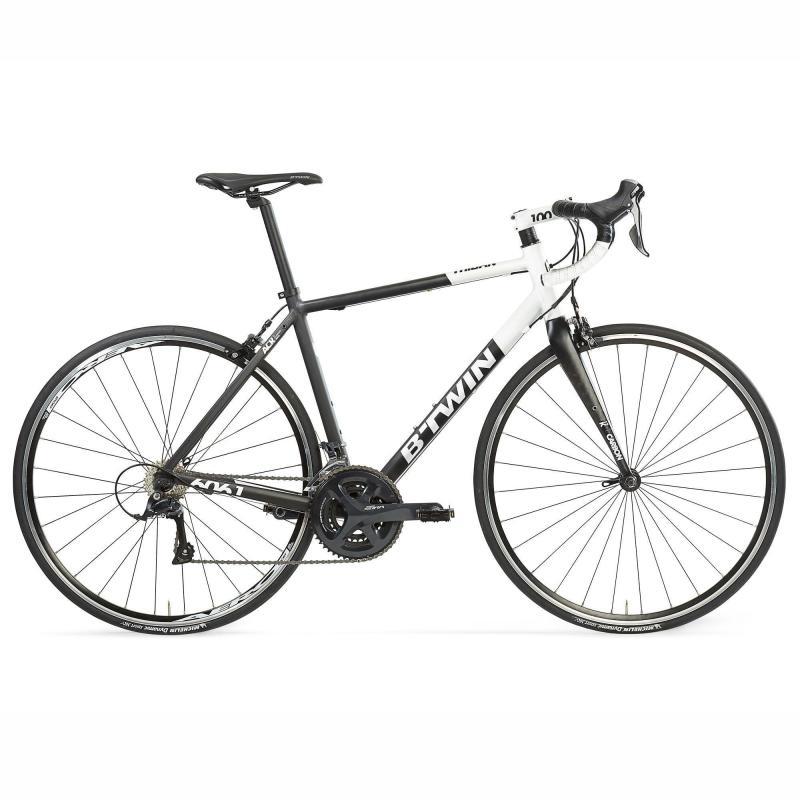 Vélo route B'Twin Triban 520 - Noir/Blanc