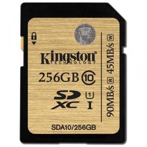 Carte mémoire SDXC Kingston Ultimate Classe 10 - 256 Go