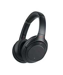 Casque sans-fil à Réduction de Bruit Sony WH-1000XM3 - Bluetooth, Noir