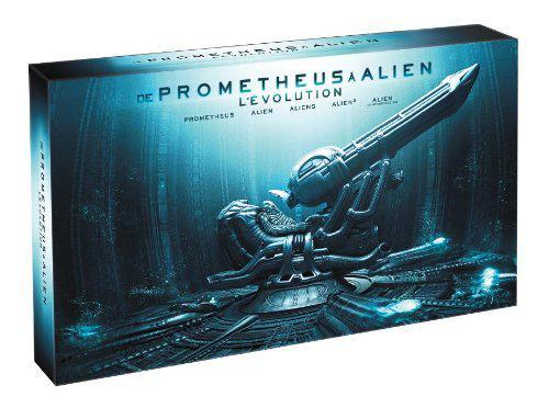 Coffret Blu-ray : De Prometheus à Alien - 9 Blu-ray