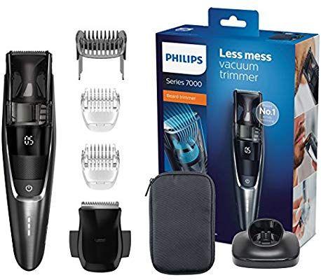 Tondeuse à barbe Philips Series 7000 avec système d'aspiration