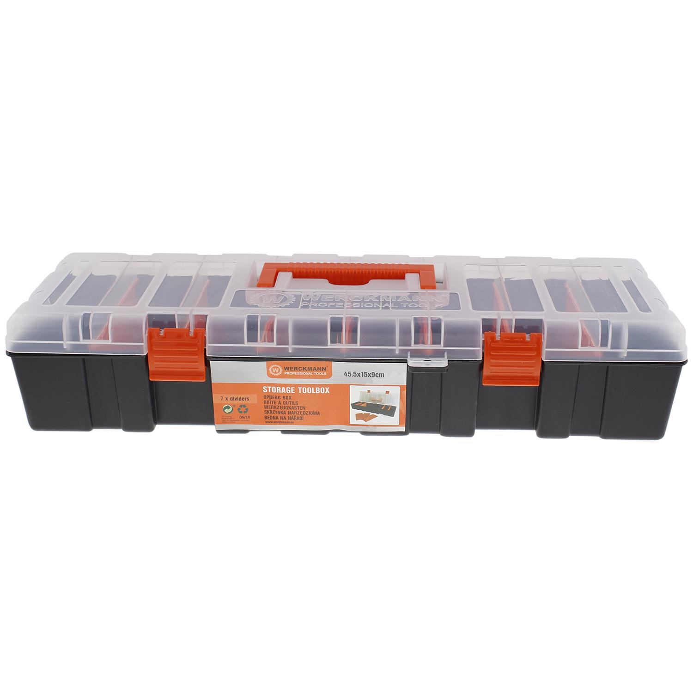 Boîte de rangement à 7 compartiments