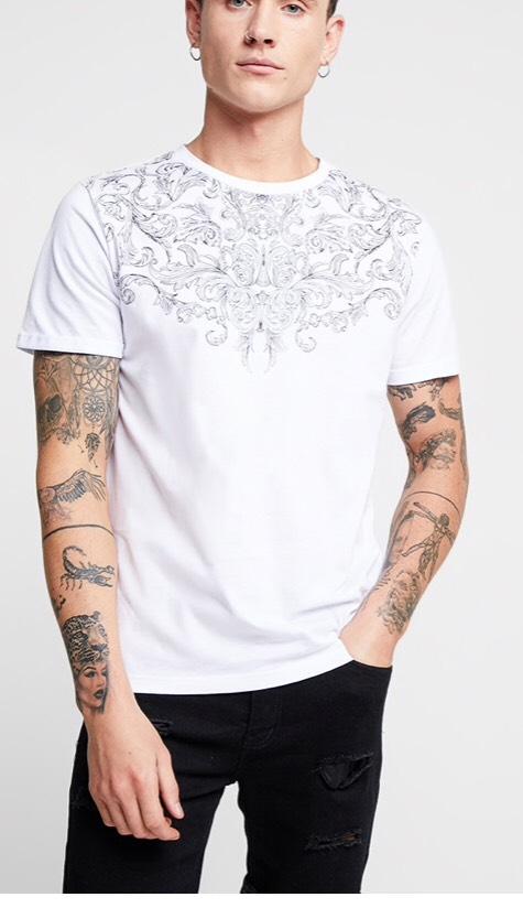 T-shirt imprimé Jack and jones Jortrand Tee Crew Neck (Tailles au choix)