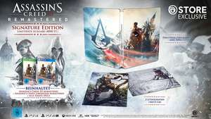 Assassin's Creed III Remastered - Édition Signature sur PS4 et Xbox One