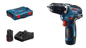 Perceuse Visseuse sans-fil Bosch Professional, GSR 12V-35 - Brushless, 2 batteries 3.0 Ah en Coffret L-BOXX