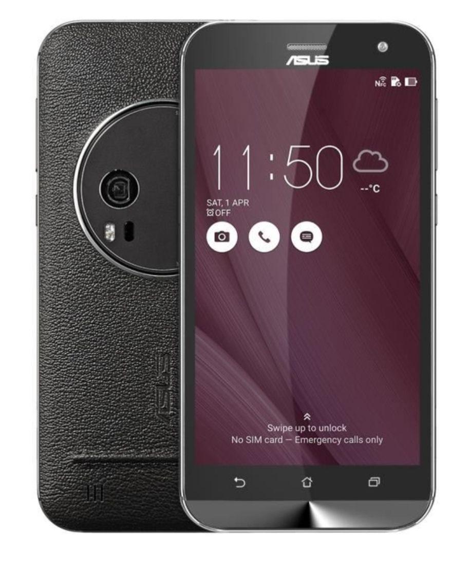 "Smartphone 5.5"" Asus ZenFone Zoom ZX551ML - Full HD, Z3590, RAM 4 Go, ROM 64 Go (Avec B20), Noir (vendeur tiers)"