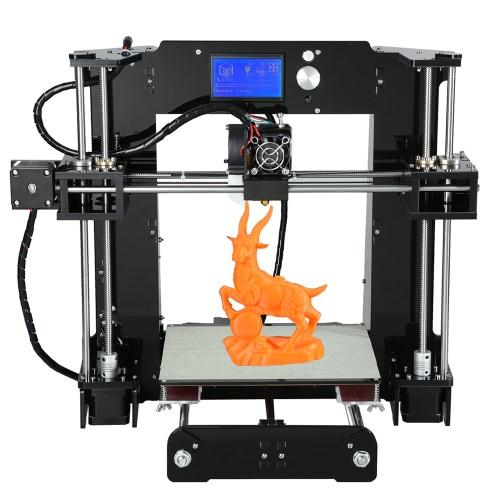 Imprimante 3D Anet A6 avec Ecran LCD (220 x 220 x 250 mm) + Carte SD 16 Go (Entrepôt Allemagne)