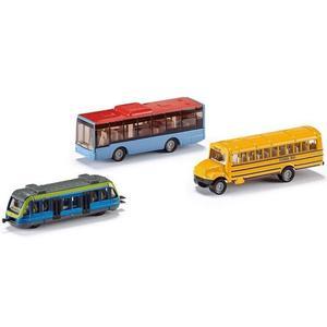 Kit de voitures miniatures Siku coffret cadeau transports urbains (6303)