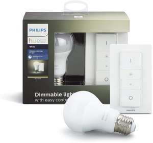Kit Philips Hue Wireless Dimming - 1 ampoule White + 1 télécommande Dimming